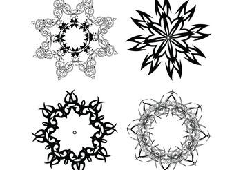 Free Vector Image of Decorative Design Elements - Free vector #143059