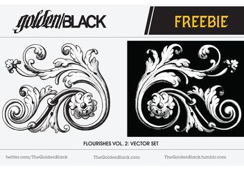 Flourish Vector Vol. 2: Sample - Free vector #143089