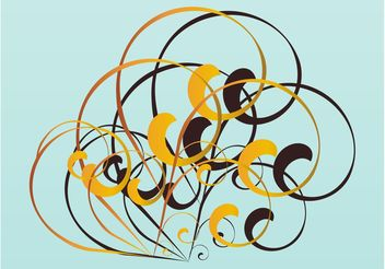 Swirls Vector Design - vector gratuit #143259