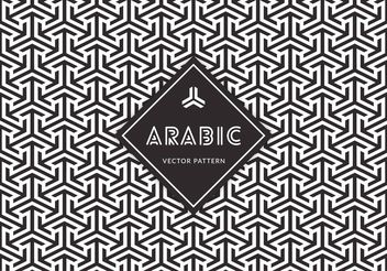 Free Arabic Seamless Vector Pattern - Free vector #143539