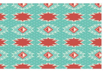 Free Aztec Geometric Seamless Vector Pattern - Kostenloses vector #143549