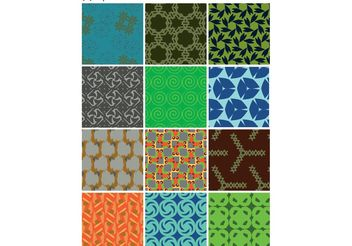 Patterns Collection - vector gratuit #143639