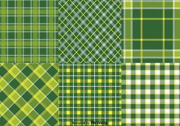 St. Patrick's Day Vector Textile Patterns - Free vector #143659