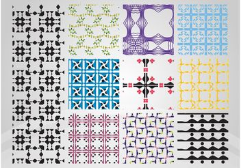 Patterns Designs - vector gratuit #143799