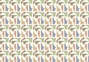 Shoes Pattern Background Vector - Free vector #143899