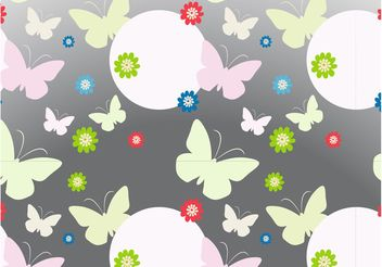 Spring Pattern Graphics - Free vector #143939