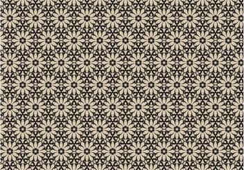 Vintage Flowers Pattern - Free vector #143969