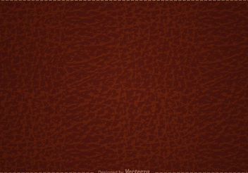Free Brown Leather Vector Background - Free vector #144189