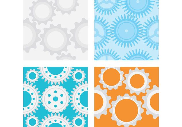 Gear Vector Patterns - бесплатный vector #144209