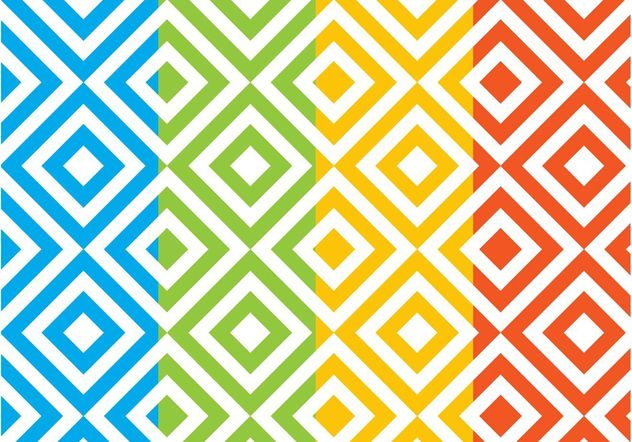 Square Patterns Set - Free vector #144229