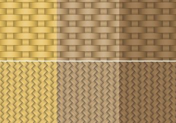 Old Basket Textures - Free vector #144279