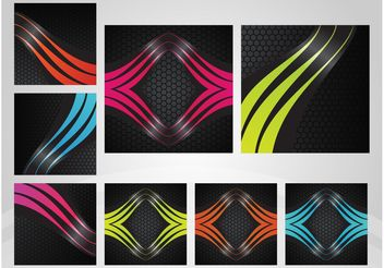 Abstract Tiles - vector #144329 gratis