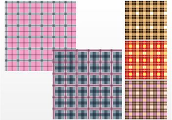 Checkered Patterns - vector gratuit #144339