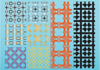 Pattern Layouts - vector gratuit #144389