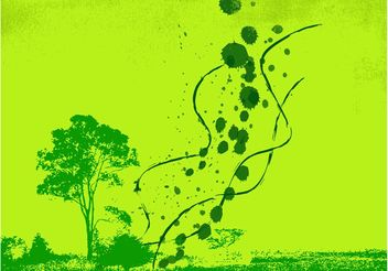 Green Spring Background - vector #144619 gratis