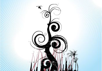 Artistic Nature - vector gratuit #144639