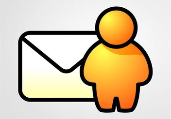 Email Icon Vector - бесплатный vector #144799