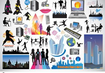 Free Vector Art Graphics - Free vector #145109