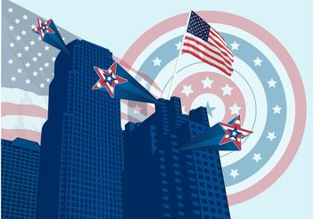 Living In America - vector gratuit #145169