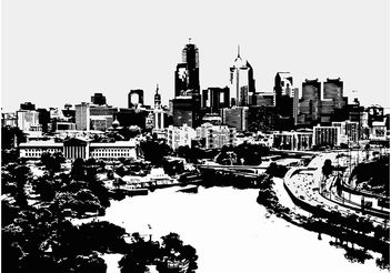 Big City Life - Free vector #145239
