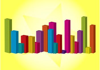 Vector City - vector #145259 gratis