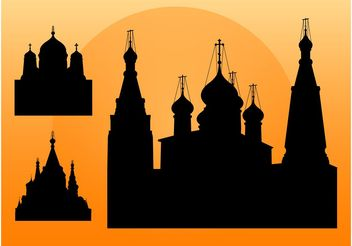 Churches - vector gratuit #145289