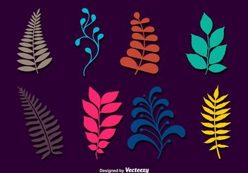 Vector Leaf Branches - vector gratuit #145489