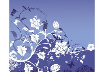 Nature Background - vector gratuit #145499