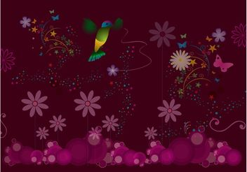 Nature Celebration Background - Kostenloses vector #145509