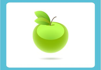Green Apple - vector gratuit #145589