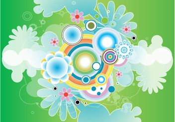 Nature Shapes Vector - Free vector #145869