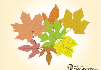 Autumn Vector Graphics - Free vector #146349
