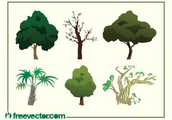 Vector Tree Images - vector gratuit #146399