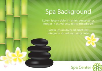 Spa Background - vector gratuit #146579