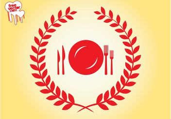 Retro Food Icon - Free vector #146799