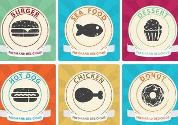 50's Diner Posters - Free vector #147379