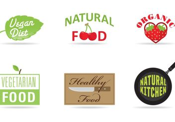 Diet and Product Vector Logos - Free vector #147499