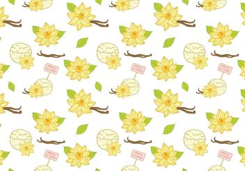 Free Vanilla Ice Cream Pattern Vector - бесплатный vector #147599