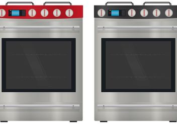 Modern Stove Vectors - Free vector #147619