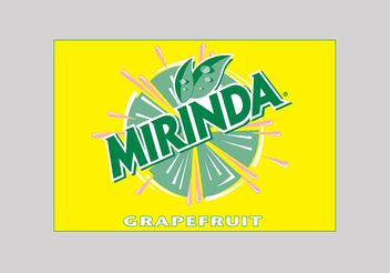 Mirinda Grapefruit - Free vector #147719
