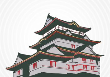 Japanese House - Free vector #148009