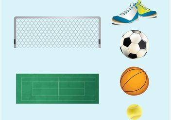 Sports Gear - vector gratuit #148099