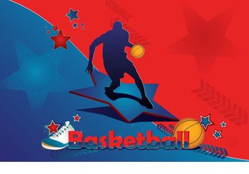Basketball Star - vector gratuit #148139