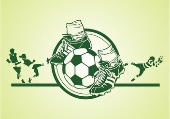Soccer Vector Graphics - Free vector #148219