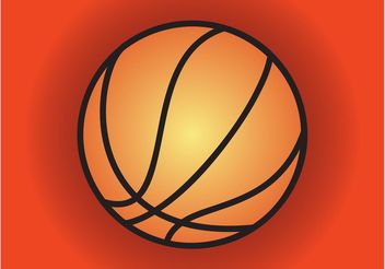 Basketball Icon - Free vector #148329