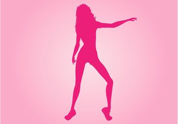 Fitness Girl Vector - vector #148379 gratis