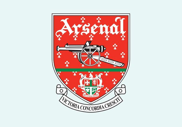 Arsenal FC - vector gratuit #148459