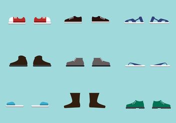 Free Vector Shoes - Kostenloses vector #148679