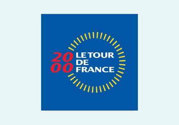 2000 Tour de France - vector gratuit #148919