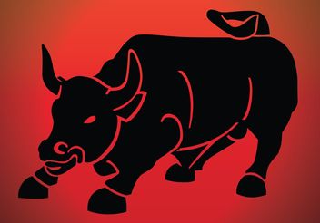 Raging Bull - Free vector #148929